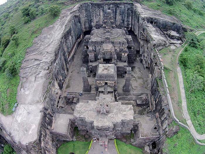 Tempio Di Kailasa India