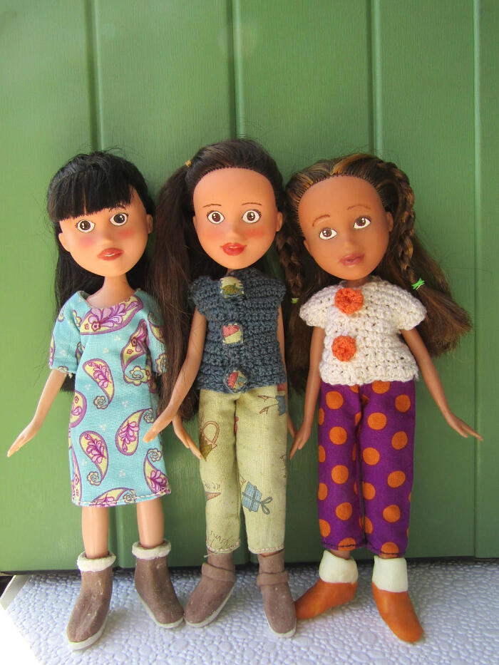Bambole ridipinte, Ribambole