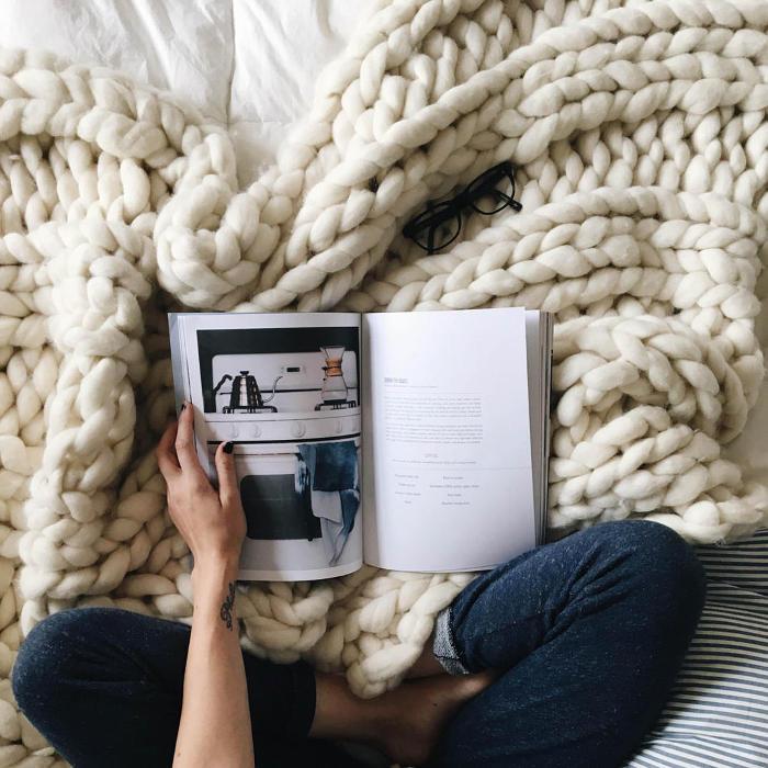 Coperte in lana merino gigante - Bewool