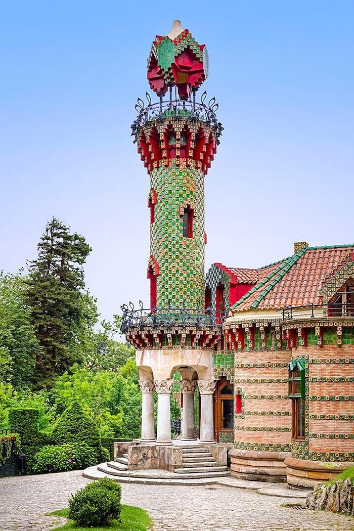 El Capricho Antoni Gaudí Foto Di David Cardelús