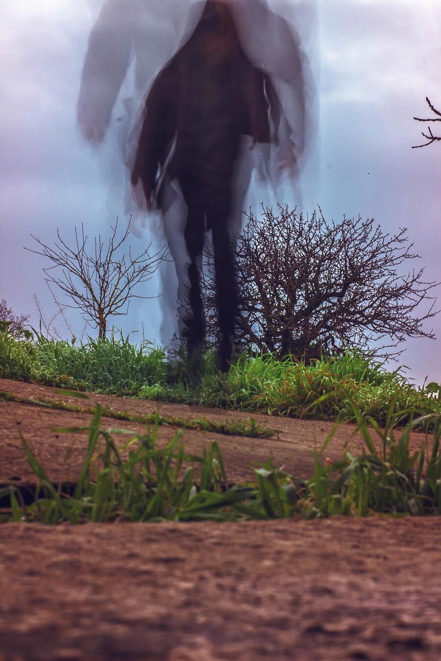White shadow, fotografia di Alfredo Ingraldo