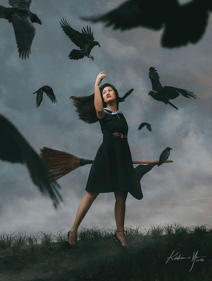 Immagini Surreali Streghe Katrina Yu