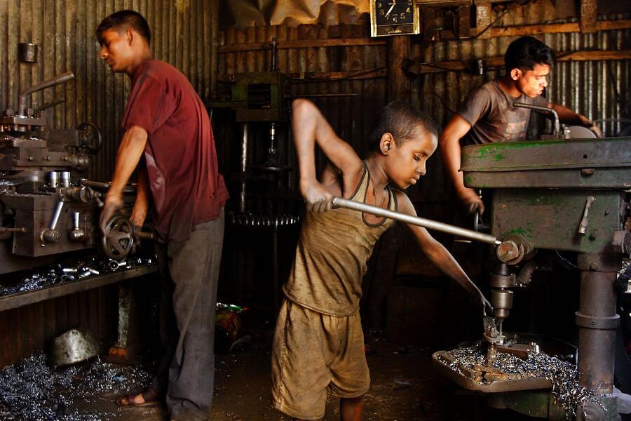 Foto Lavoro Minorile In Bangladesh GMB Akash