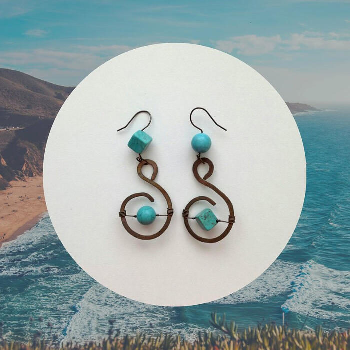 Sentiero Tropicale: orecchini unici e colorati, dove ognuno può trovare la sua spiaggia personale