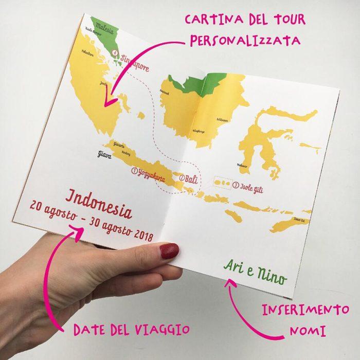 Passaporti personalizzati che diventano diari di viaggio, con TerryPLUM