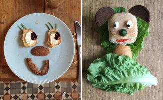 Gioca con il cibo e crea simpatiche faccine a cui nessun bambino potrà dire di no