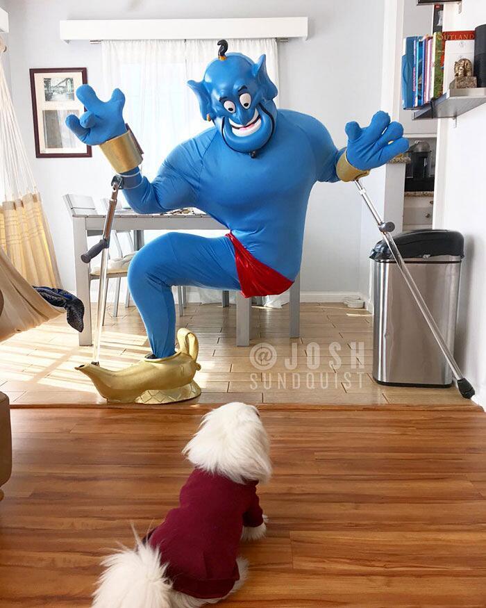 Uomo Amputato Costume Di Halloween Josh Sundquist