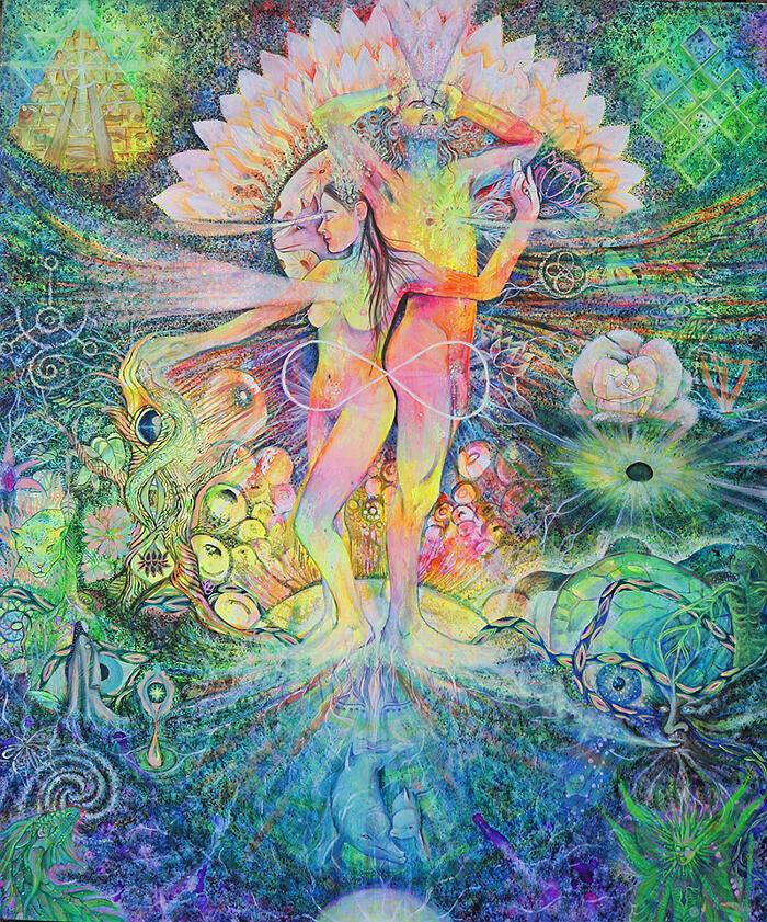 Zaini artistici porta PC, di Cosmic Uterus