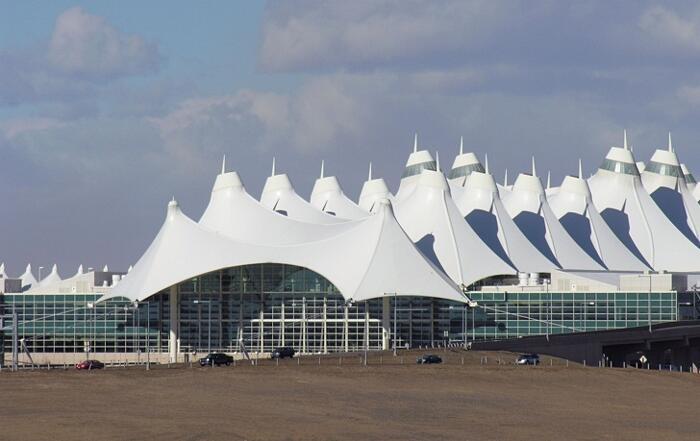 Aeroporti Più Belli Del Mondo Aeroporto Internazionale di Denver USA