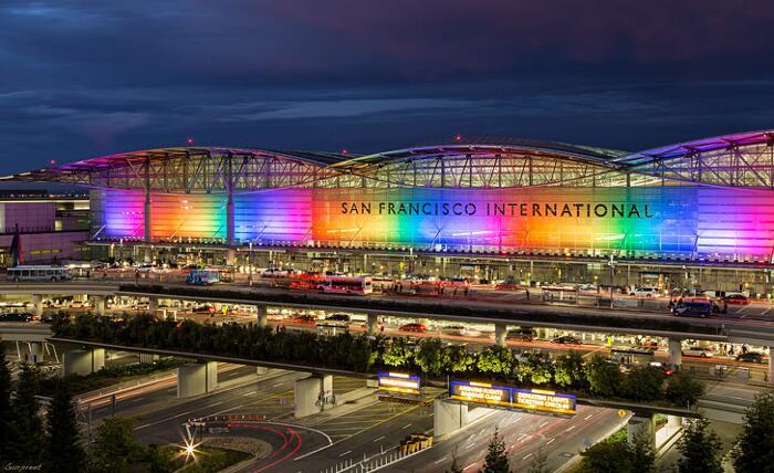 Aeroporti Più Belli Del Mondo Aeroporto Internazionale di San Francisco
