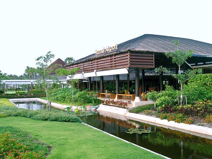 Aeroporti Più Belli Del Mondo Aeroporto di Koh Samui Thailandia