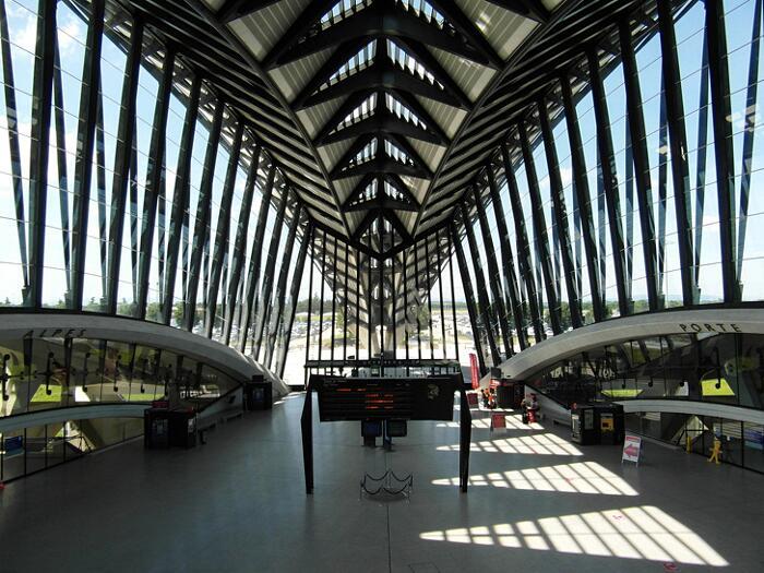 Aeroporti Più Belli Del Mondo Aeroporto di Lione Saint Exupéry Francia