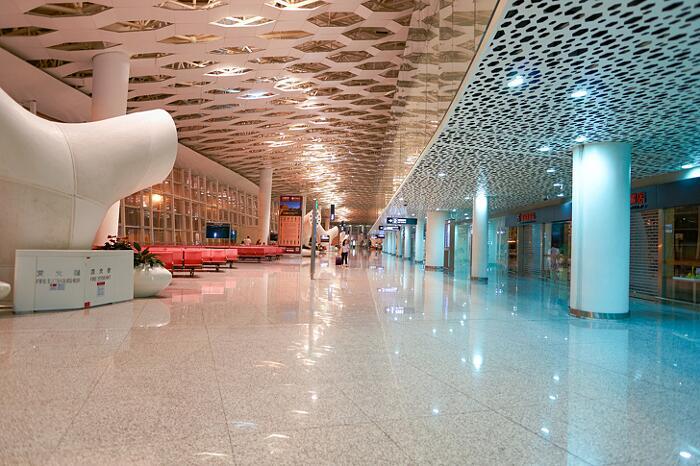 Aeroporti Più Belli Del Mondo Aeroporto di Shenzhen-Bao'an Shenzhen Cina