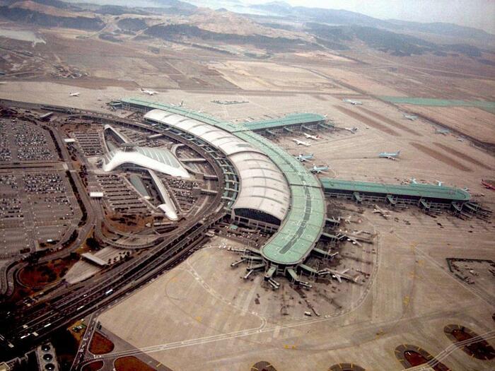 Aeroporti Più Belli Del Mondo Aeroporto Internazionale di Seul-Incheon Corea del Sud