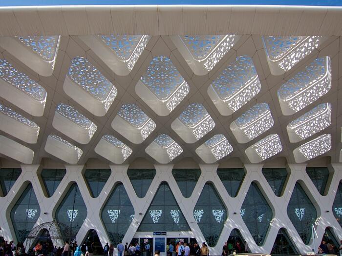 Aeroporti Più Belli Del Mondo Aeroporto di Marrakech-Menara Marocco