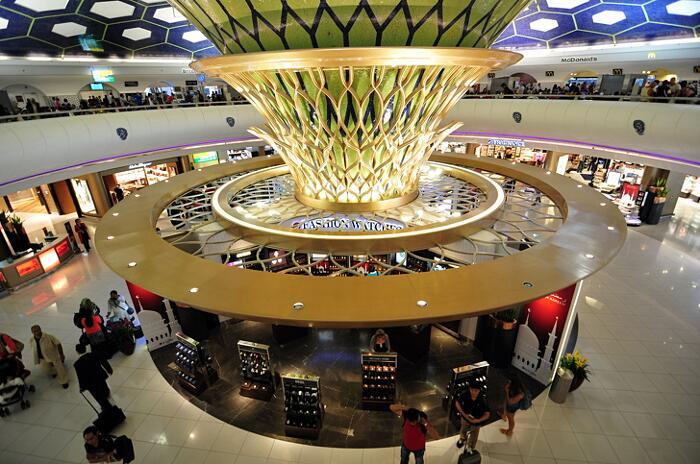 Aeroporti Più Belli Del Mondo Aeroporto Internazionale di Abu Dhabi Emirati Arabi Uniti