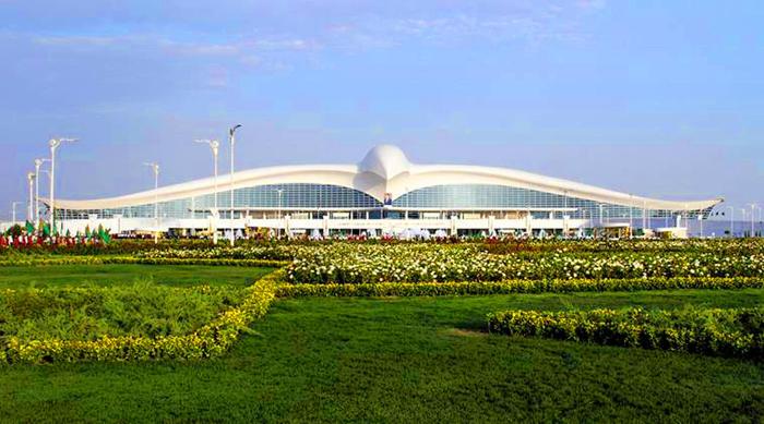 Aeroporti Più Belli Del Mondo Aeroporto di Aşgabat Turkmenistan
