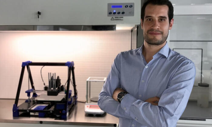 Un italiano inventa la bistecca vegan stampata in 3D, Giuseppe Scionti, Novameat