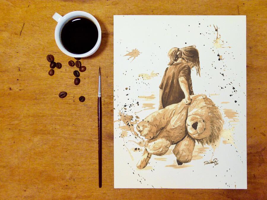 Dipinti con il caffè, OrmeDiCaffe