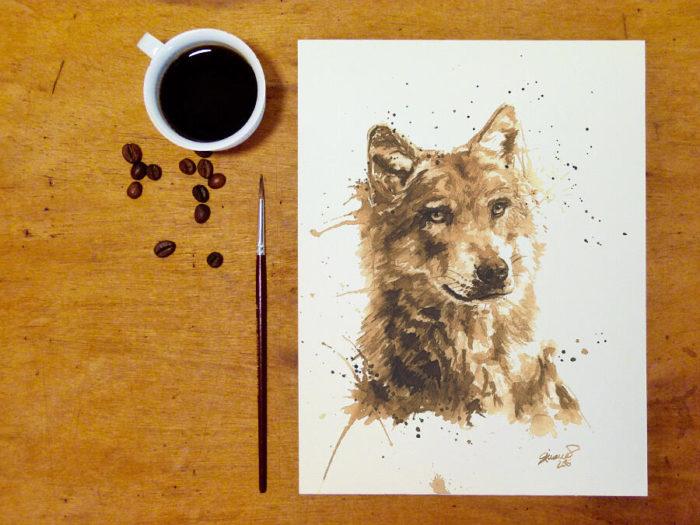 OrmeDiCaffe, l'arte del caffè su carta