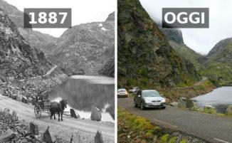 """89 foto """"prima e dopo"""" mostrano quanto il mondo sia cambiato"""