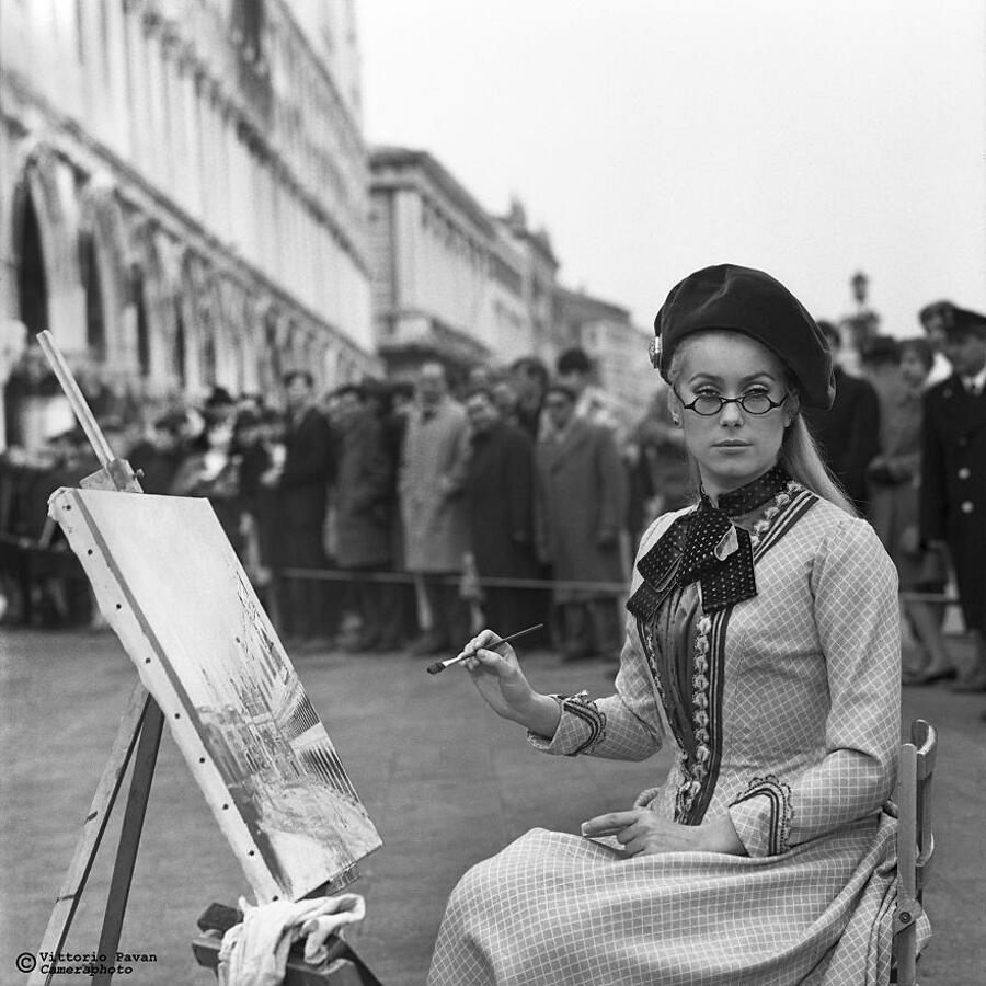 Foto Vintage Personaggi Famosi Anni '50 Venezia