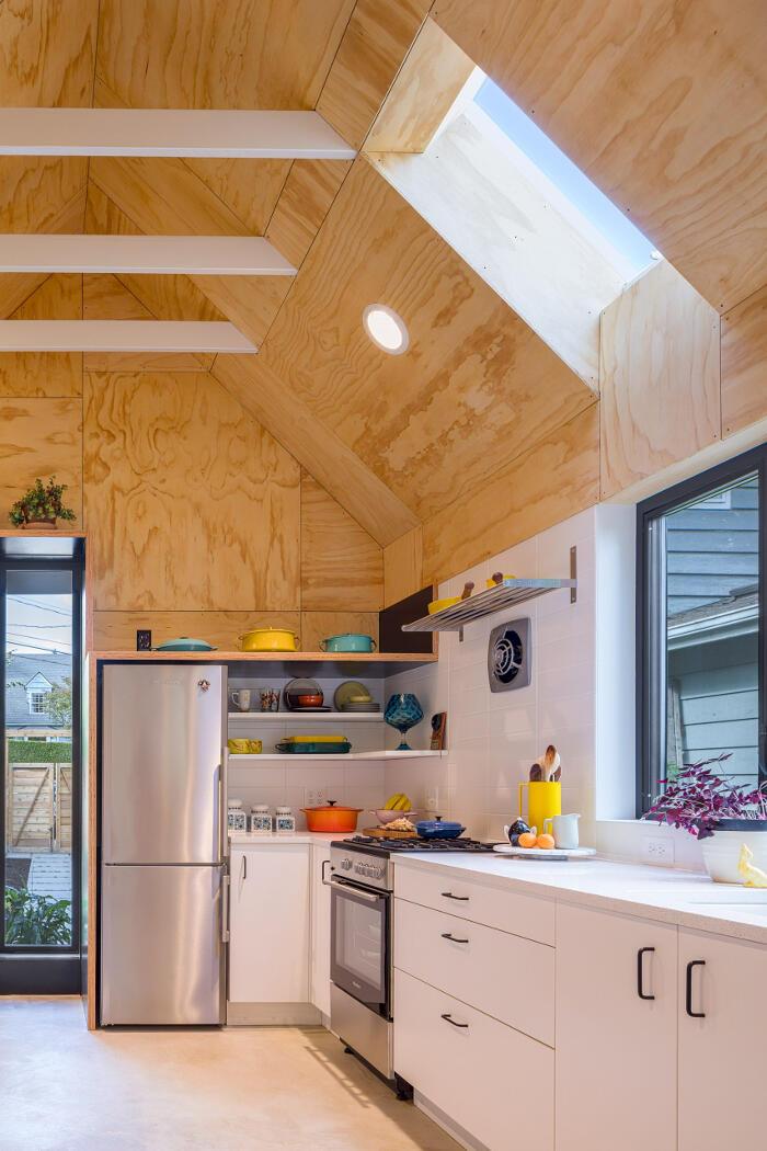 Garage trasformato in casa a Seattle, Best Practice Architecture