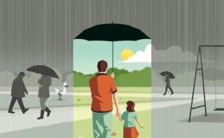 Pungenti illustrazioni offrono uno specchio doloroso del mondo contemporaneo