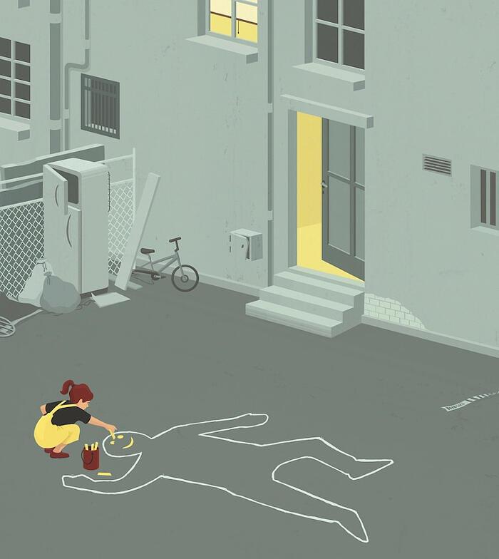 Illustrazioni che fanno riflettere su vita, lavoro e amore, Stephan Schmitz