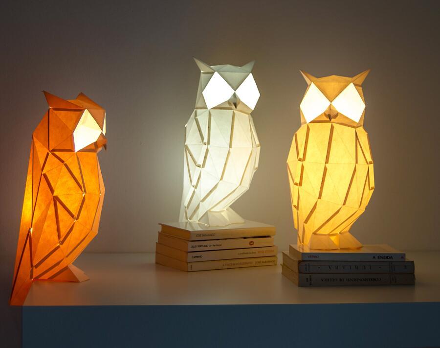 Lampade A Forma Di Animali Fai Da Te Owl