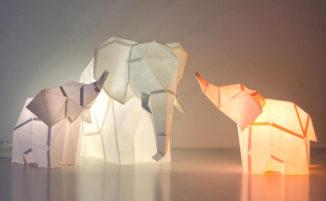 Lampade fai da te che si ispirano al mondo animale