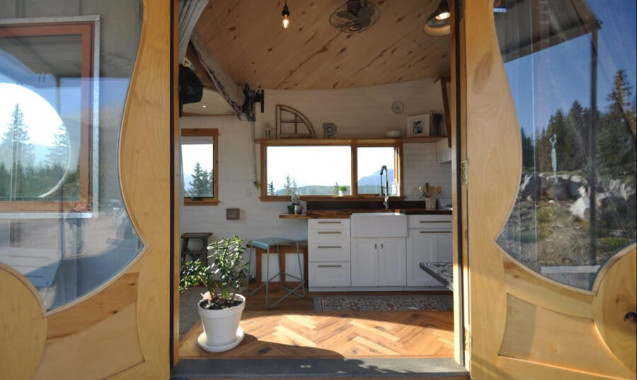 Micro casa mobile autosufficiente, San Juan di Rocky Mountain Tiny Houses