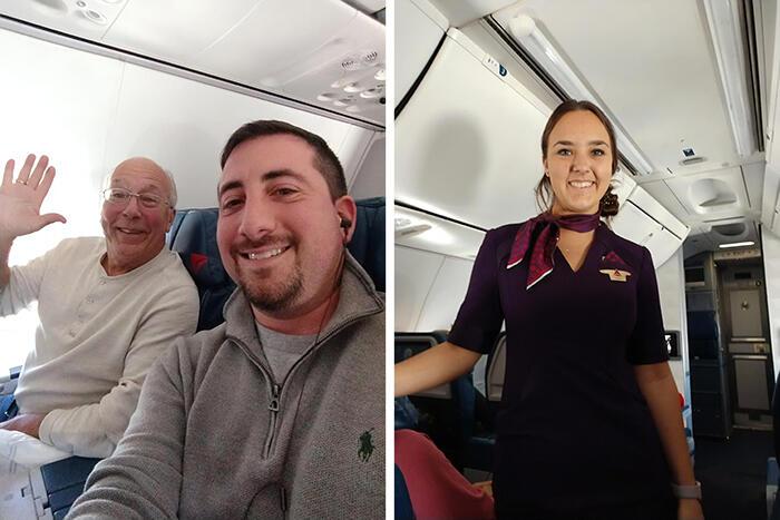 Papà compra 6 biglietti aerei per stare con la figlia hostess a Natale