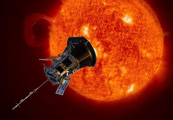 Foto Corona Solare Sonda Parker Solar Probe