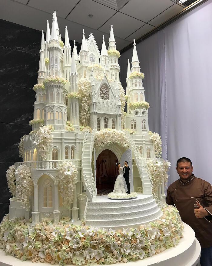 Pasticcere russo crea capolavori di cake design con le sue torte da sogno