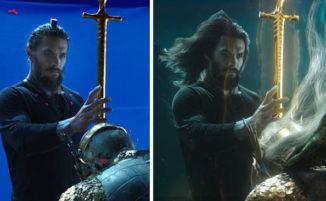 Uno sguardo agli incredibili effetti speciali utilizzati nel film Aquaman