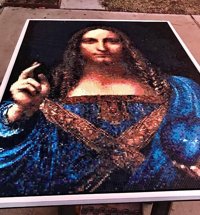 Mosaici Fatti Con I Lego Joseph Kraham