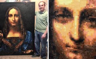 Artista usa migliaia di LEGO per creare meravigliosi mosaici