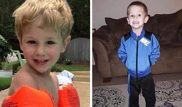 Bambino di 3 anni ritrovato dopo essersi smarrito nel bosco per 2 giorni, Casey Hathaway