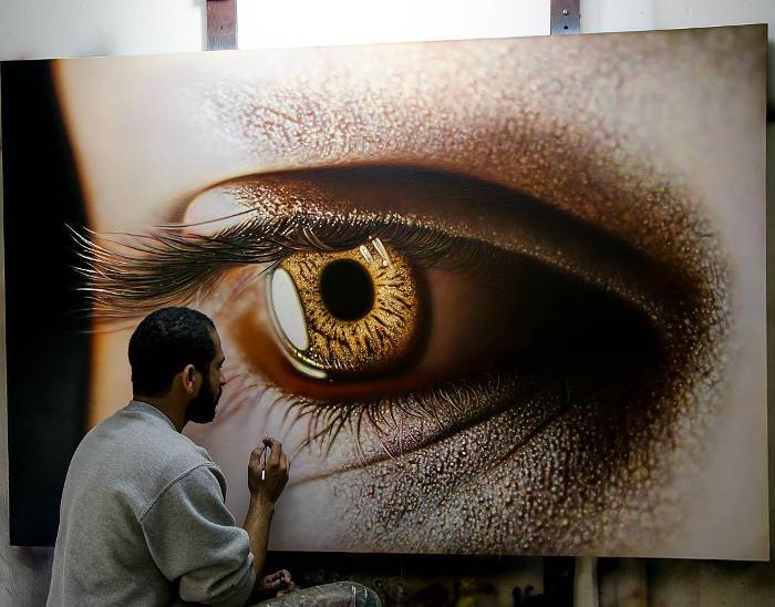 Dipinti iperrealistici così incredibili che vi faranno sgranare gli occhi