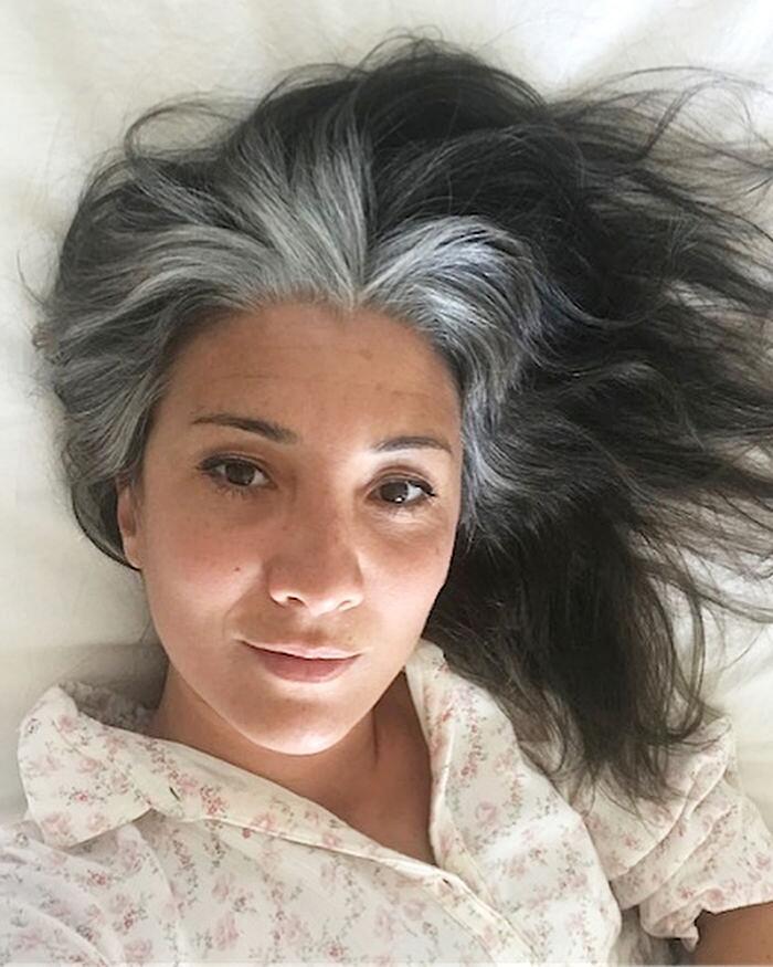 50 bellissime donne che hanno deciso di non fare più la tinta - KEBLOG 7c4be60c997d