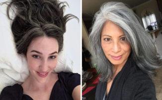 50 bellissime donne che hanno deciso di non fare più la tinta