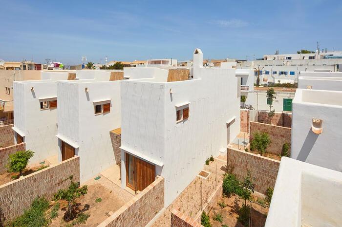 Edilizia eco sostenibile in Spagna, Reusing Posidonia