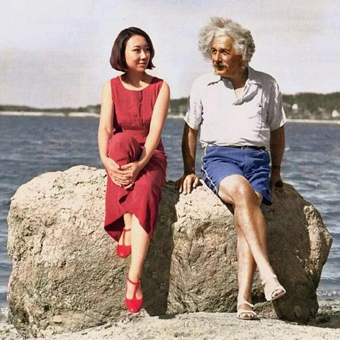 Fotografa Si Photoshoppa Insieme A Personaggi Famosi Storia Celine Liu