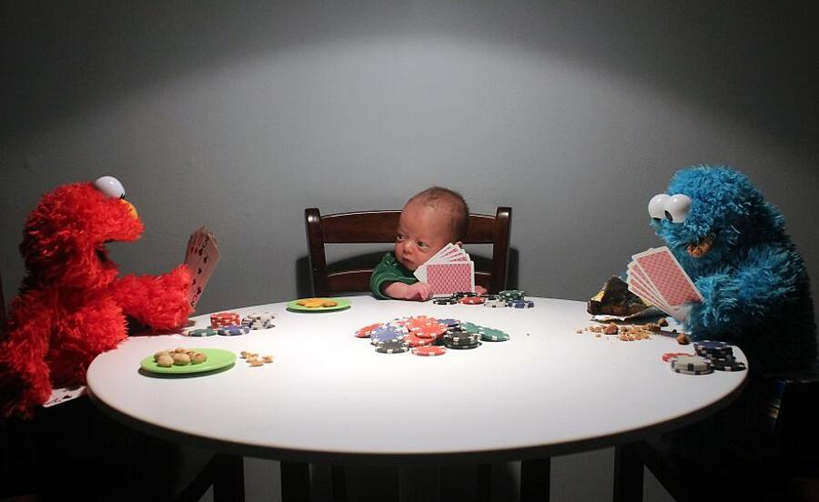 Bambino Prematuro Foto Elaborazioni Divertenti