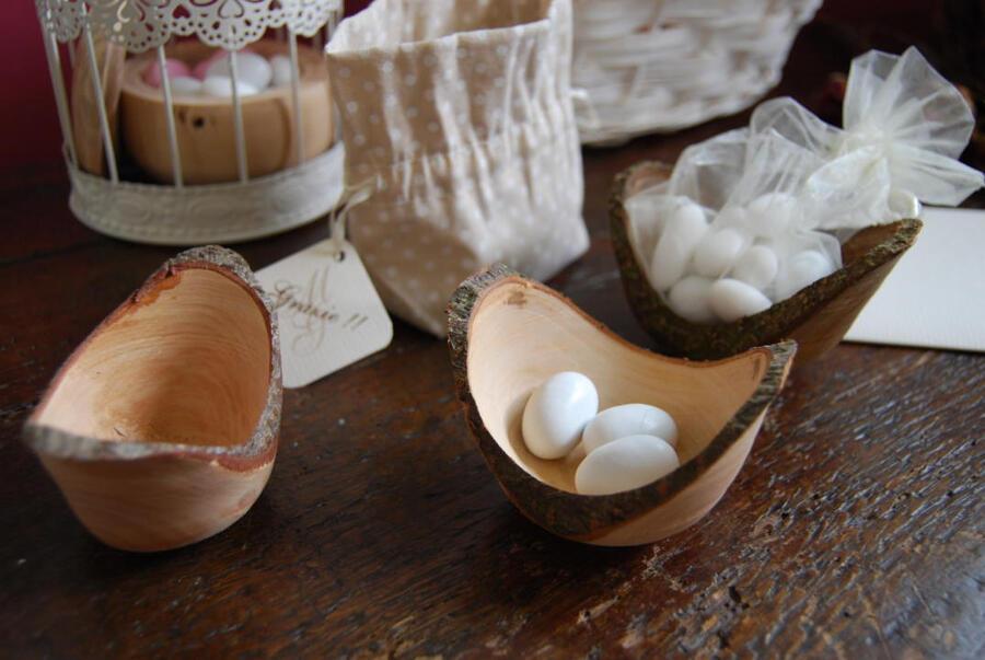 Oggetti artigianali di arredamento in legno, Mem Tornitura