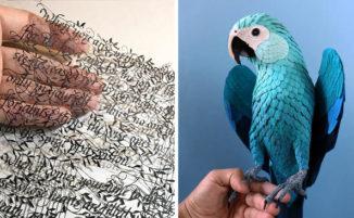 Quando la carta si trasforma in un'opera d'arte: 22 bellissimi esempi