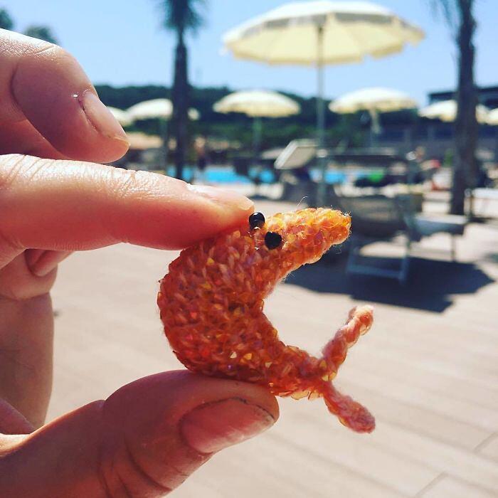 Pesci Crostacei Uncinetto Kate Jenkins