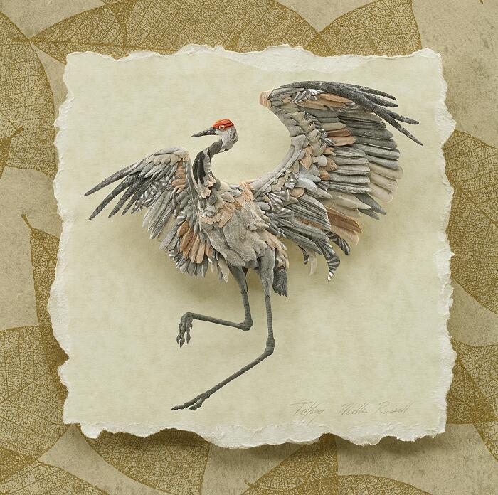 Sculture Di Carta Di Animali Selvatici Tiffany Miller Russell