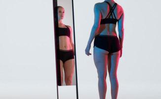 Questo specchio ti scansiona in 3D e ti dice la verità sul tuo corpo